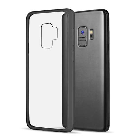 Samsung Galaxy S9 Fusion Candy Tpu With Clear Acrylic Back