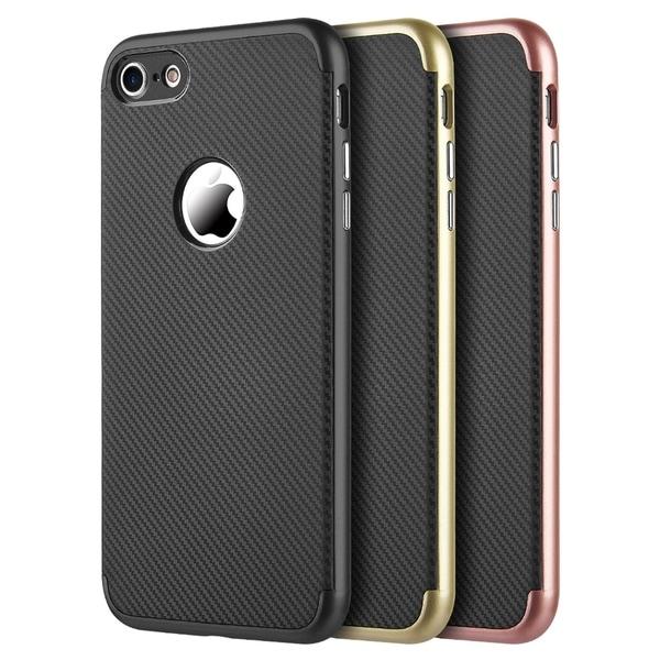 free shipping a3440 e86e0 Shop Iphone 8 Tough Elegance Hybrid Case With Black Silk Tpu - Free ...