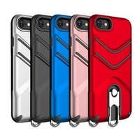 Iphone 8 / 7 The Victory Hybrid Case With Metal Cap Stand