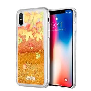 Iphone X Waterfall Fusion Liquid Sparkling Quicksand Case
