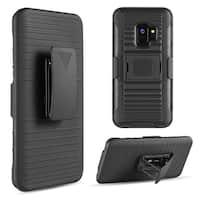 Samsung Galaxy S9 Mag-Defender Hybrid Hoslter Combo Case W/ Magnet