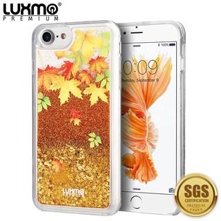 Iphone 8 / 7 Waterfall Fusion Liquid Sparkling Quicksand Case (Option: Orange)