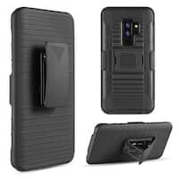 Samsung Galaxy S9 Plus Mag-Defender Hybrid Hoslter Combo Case