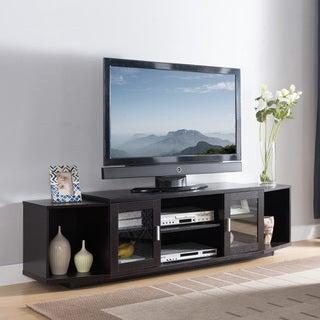 Furniture of America Rasa Contemporary 72-inch Metal Storage TV Stand