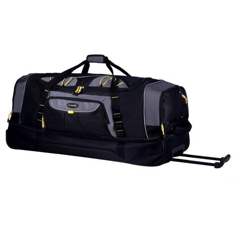 5562eb9973 T.P.R.C. Sierra Madre 36-inch Double Compartment Rolling Duffel Bag