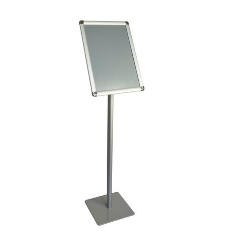 Offex A3 Size Paper Pedestal Floor Display Poster Sign Holder Stand