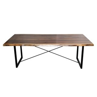 Walnut Dining Table with Rochester Base