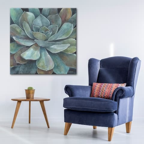 Rustic Succulent Gallery Wrapped Canvas Art by Norman Wyatt Home