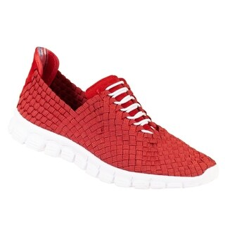 Zee Alexis Women's Danielle Woven Athletic Shoe Red