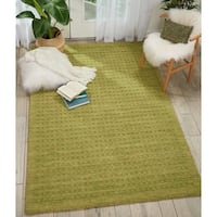 Nourison Perris Hand Woven Green Area Rug - 5' x 7'6