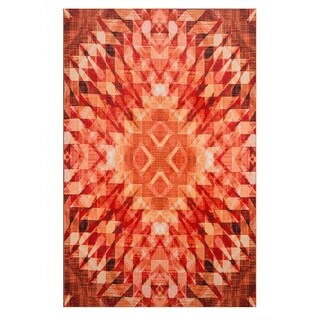 Mohawk Home Prismatic Psych Area Rug (5'x8') - 5' x 8'