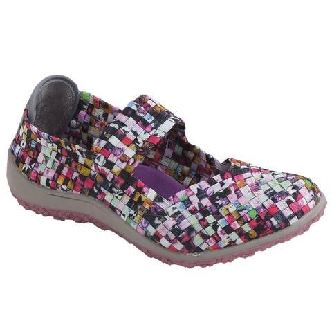Zee Alexis Womens Sammi Woven Mary Jane Shoe Mosaic