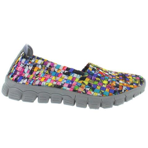 Zee Alexis Women's Stella Woven Slip On Shoe Mosaic