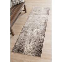 Wilton-Woven Savannah Copper Transitional Runner - 2'6 x 8'