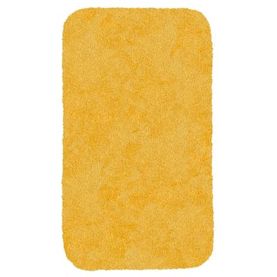 Yellow Solid Color Bath Mats Rugs