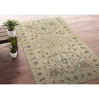 Bombay Home Zion Sand Wool Handmade Area Rug - 8' x10'