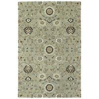 Hand-Tufted Tannica Mint Wool Rug - 8' x10'