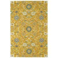 Bombay Home Tannica Gold/Multicolor Wool Handmade Area Rug - 9' x 12'
