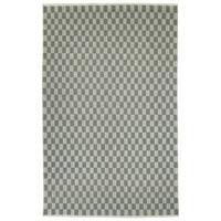Hand-Loomed Akta Grey Wool Rug - 8' x10'