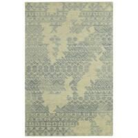 Hand-Tufted Kenzo Linen Wool Rug - 8' x10'
