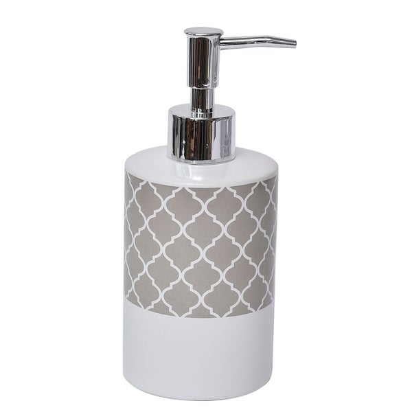 Evideco Collection Escal Bathroom Soap and Lotion Dispenser