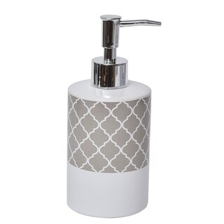 Evideco Collection Escal Bathroom Soap and Lotion Dispenser