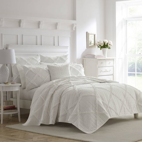 Laura Ashley Maisy Cotton Quilt Set