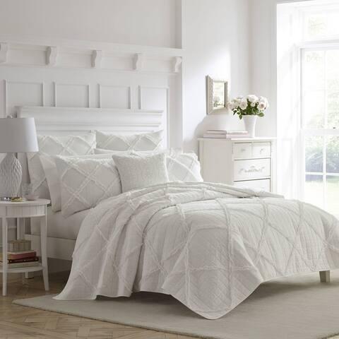 Laura Ashley Maisy Cotton Quilt Set