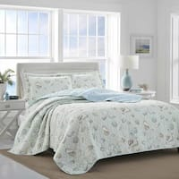 Laura Ashley Weekly Getaway Green Quilt Set