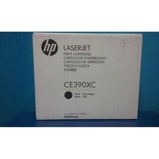 Genuine HP 90X High Yield Black Toner Cartridge , CE390XC