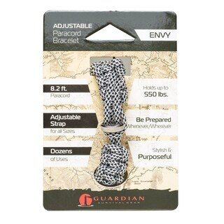 Guardian Adjustable Paracord Bracelet (Envy) - Case of 36