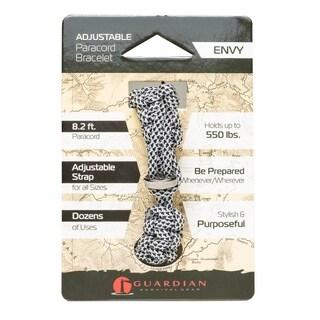 Guardian Adjustable Paracord Bracelet (Envy) - Case of 36