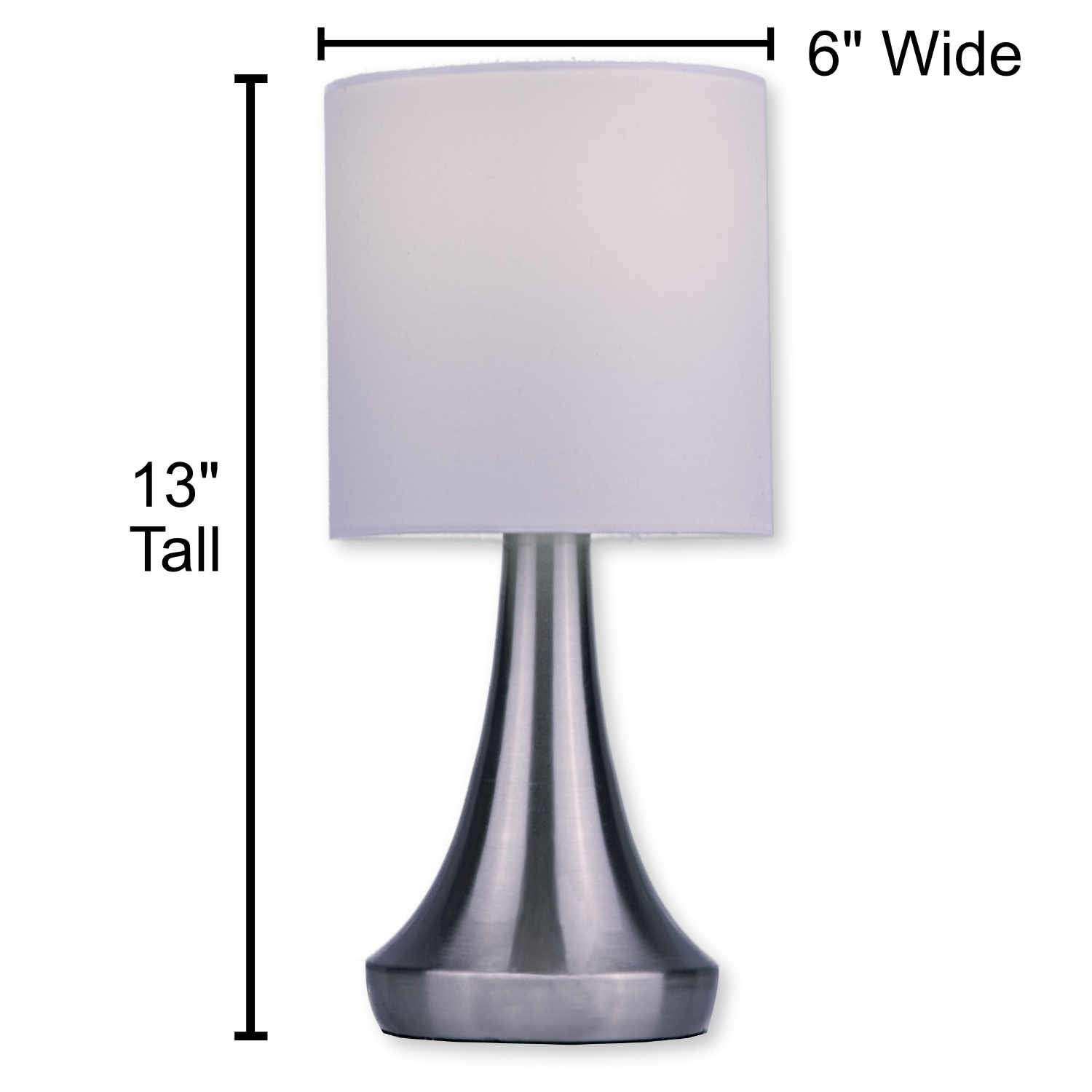 Light Accents Touch Table Lamp 13
