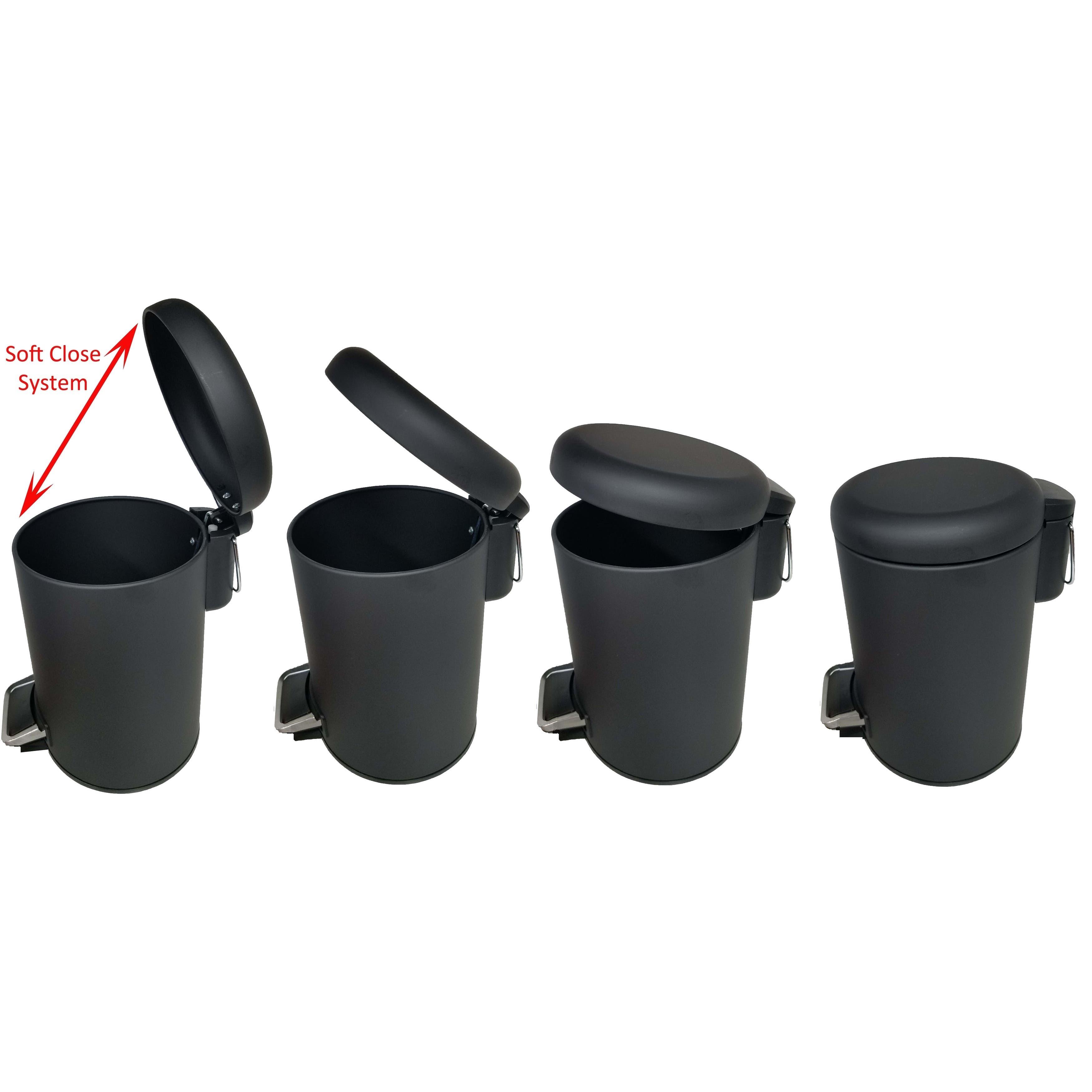 buy trash cans waste baskets online at our best bathroom accessories deals. Black Bedroom Furniture Sets. Home Design Ideas