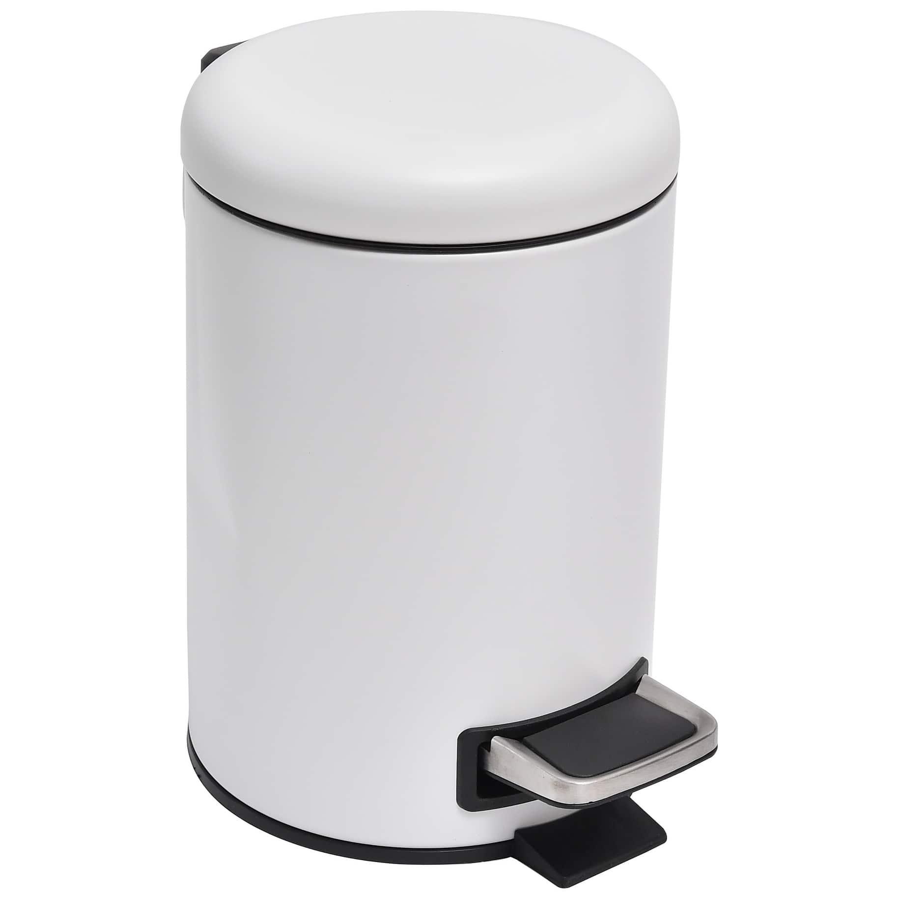 buy trash cans waste baskets online at overstock our best bathroom accessories deals. Black Bedroom Furniture Sets. Home Design Ideas