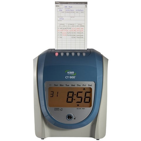 CT-900 Calculating Time Recorder