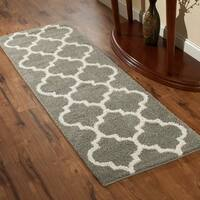 Maples Rugs Shelby Trellis Runner Rug  (2'x6')