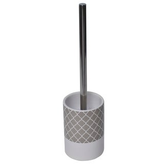 Evideco Escal Bathroom Free Standing Toilet Bowl Brush and Holder