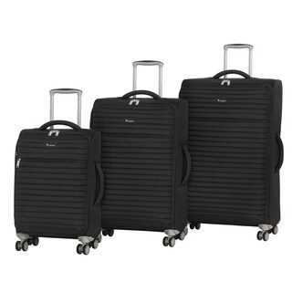 it luggage Quilte 3-Piece Expandable Spinner Luggage Set