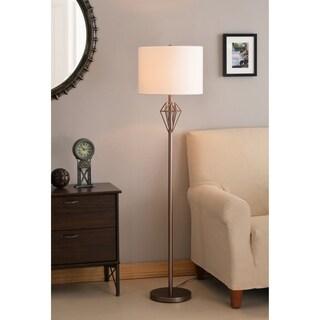 "Diamond 60"" Floor Lamp - Vintage Copper"