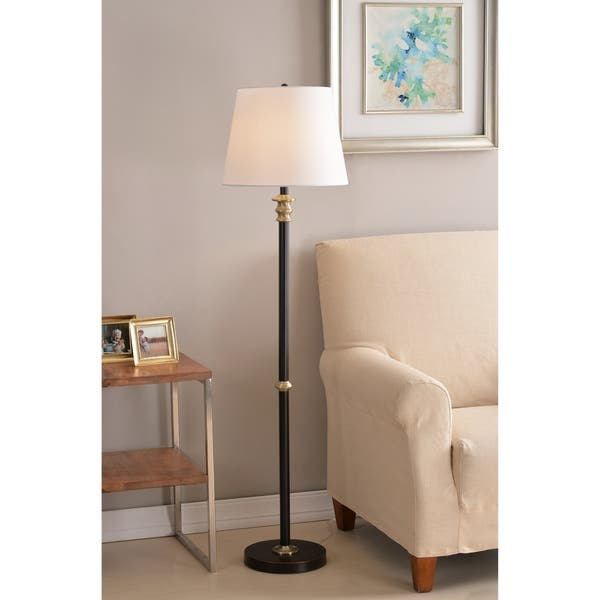 Amazing Gabriel 58 Floor Lamp Oil Rubbed Bronze Theyellowbook Wood Chair Design Ideas Theyellowbookinfo
