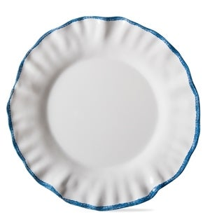 TAG Ruffle Rim Melamine Dinner Plate Set Of 4 White  sc 1 st  Overstock & Tag Dinnerware | Find Great Kitchen u0026 Dining Deals Shopping at ...