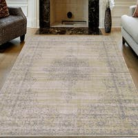 Corina Farm House Vintage Beige Oriental Area Rug by Admire Home Living