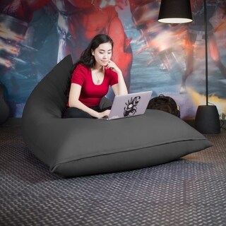 Jaxx Pivot Bean Bag Chair with Cotton Cover