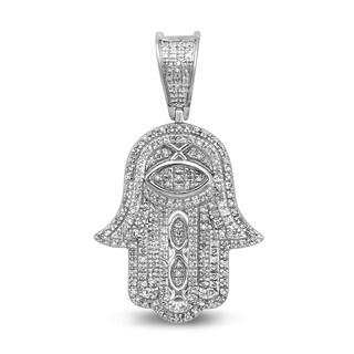 Unending Love 10k Gold Men S 1 3 Ctw Diamond I J Color I2 I3 Clarity Fashion Charm Pendant