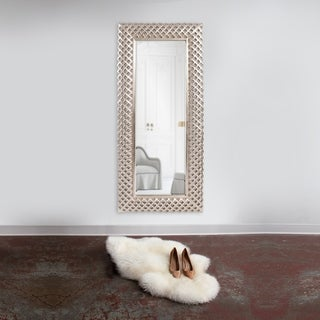 Waldorf Oversized Leaner Mirror - Silver
