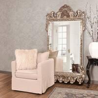 Allan Andrews Antique Silver Leaf Marquette Mirror