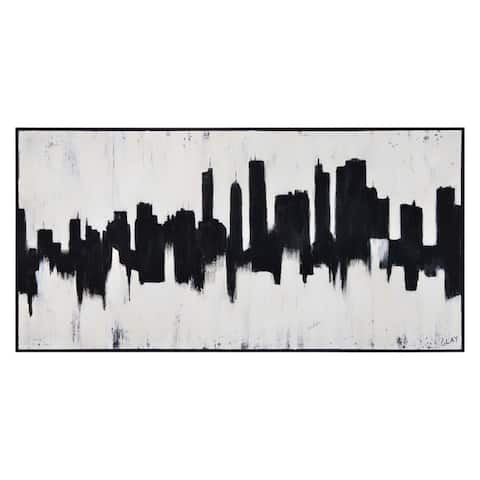 Renwil Center City Rectangular Canvas Painting