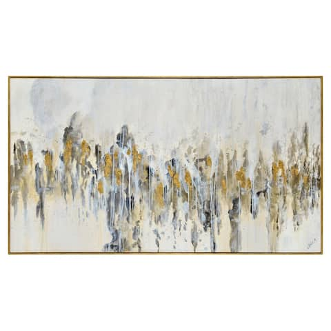 Renwil Azzura Rectangular Canvas Painting