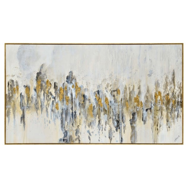 Renwil Azzura Rectangular Canvas Painting